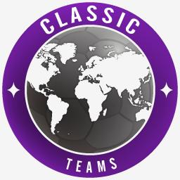 Classic Teams PES 2018 Stats